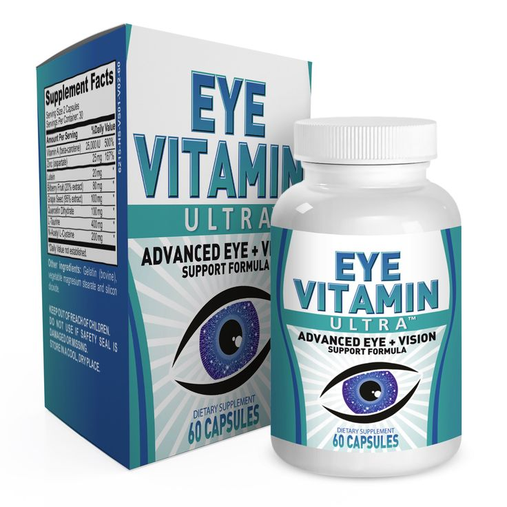 Eye Vitamin Ultra: with 8 Eye Vitamins / Supplements