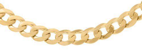Tendance Joaillerie 2017   Carissima Gold  Collier maille gourmette Homme  Or jaune 9 carats  50cm/19.5: Amazon.fr: Bijoux