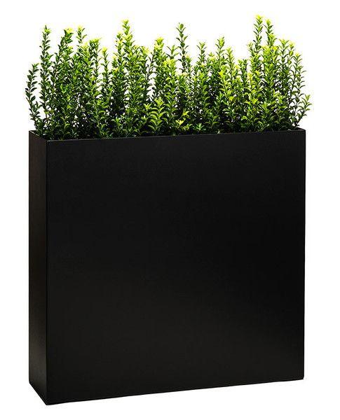 metal privacy tower planter-Puremodern
