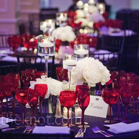 Kates Wedding Fluffy White Peonies And Candles Offset The Dramatic