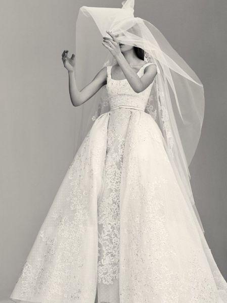 Vestidos de novia escote cuadrado 2017: Diseños que nunca pasan de moda Image: 5
