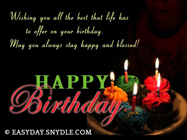 Best 25 Best birthday wishes messages ideas – Birthday Wish Greeting Images