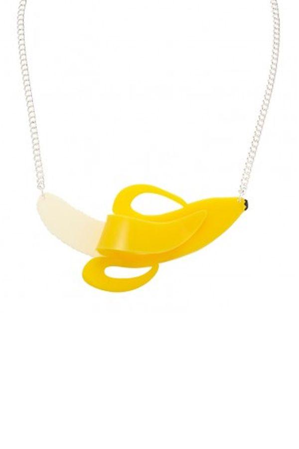 Tatty Devine Banana Necklace http://www.hengeloshop.com/shop/tatty-devine-banana-necklace/ @ £45