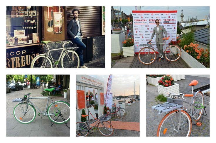 Vi hjälpte Porteur att visa upp sina nya cykel under 10 evenemang i Båstad, Stockholm, Gotland under 2012