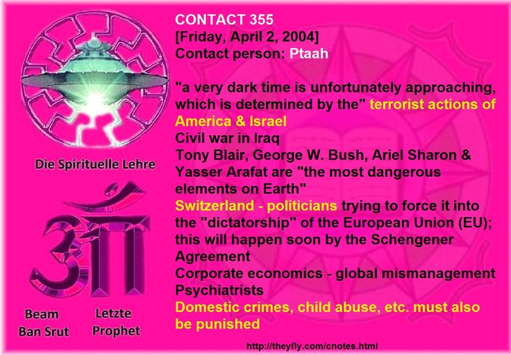 "Switzerland - politicians trying to force it into the ""dictatorship"" of the European Union (EU); this will happen soon by the Schengener Agreement Corporate economics - global mismanagement  Psychiatrists Domestic crimes, child abuse, etc. must also be punished   Note: things have passed, but still repeats itself and that serve as examples of what goes wrong between people and their choices when voting. After all, each is who is responsible for their choices and decisions and everything…"