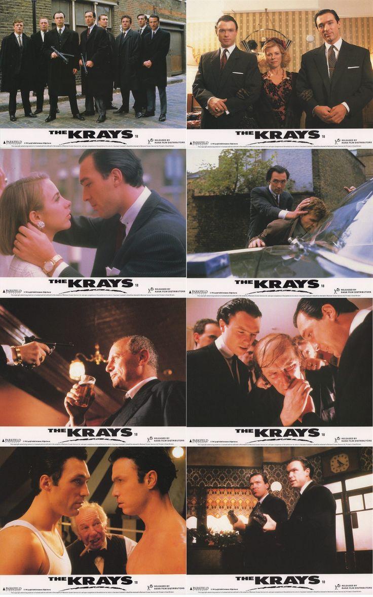 THE KRAYS 1990 UK #vintage #lobbycard. Peter Medak's cult #classic #crime #film.