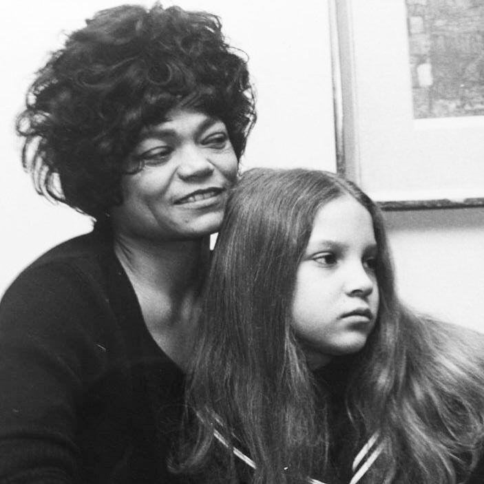 Eartha Kitt and daughter Kitt Shapiro