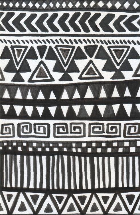 black tribal iphone wallpapers pinterest black chang 39 e 3 and tribal prints. Black Bedroom Furniture Sets. Home Design Ideas