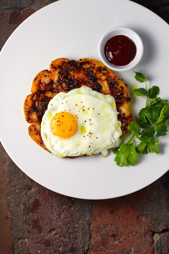Savory Korean Breakfast Pancake Breakfast Bindaetteok Mung Bean Pancake (Gluten-Free, Low-Carb) Nappa Cabbage Kimchi, Scallion Topped with a Sunny-Side-Up Egg Gochujang Sauce It's those savory caramelized bits of kimchi that make this... Read more