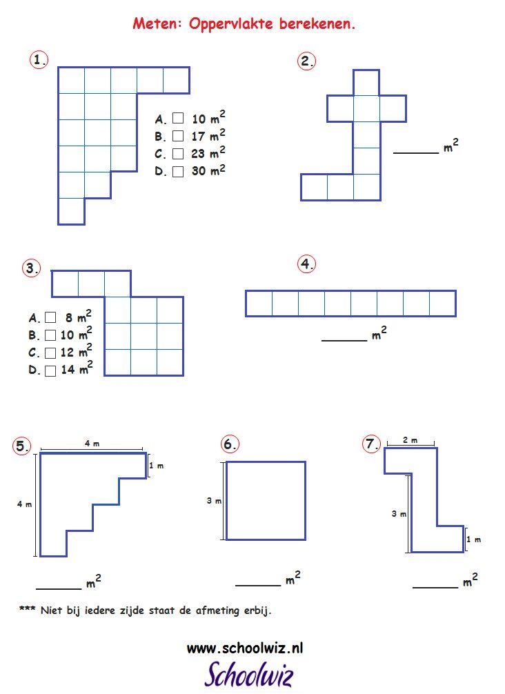 Meten 1, Oppervlakte berekenen, groep 8.png 732×1.006 pixels