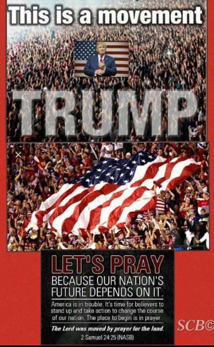 #PraywarriorsforTrump