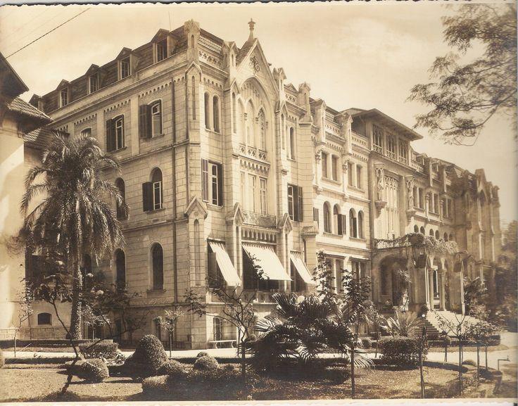 Inicialmente Palacete Uchoa, o depois Colégio des Oiseaux foi demolido em 1974 - Parque Augusta