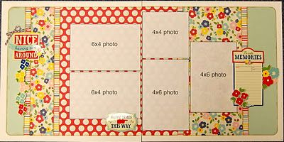 Scrapbook Generation's Girl Crazy Page Kit Club, December 2011, by Debbie Sanders