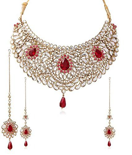 Stunning Indian Bollywood Kundan Gold Plated Wedding & Pa... https://www.amazon.com/dp/B06WD3181L/ref=cm_sw_r_pi_dp_x_0HaRybZPPXFF6