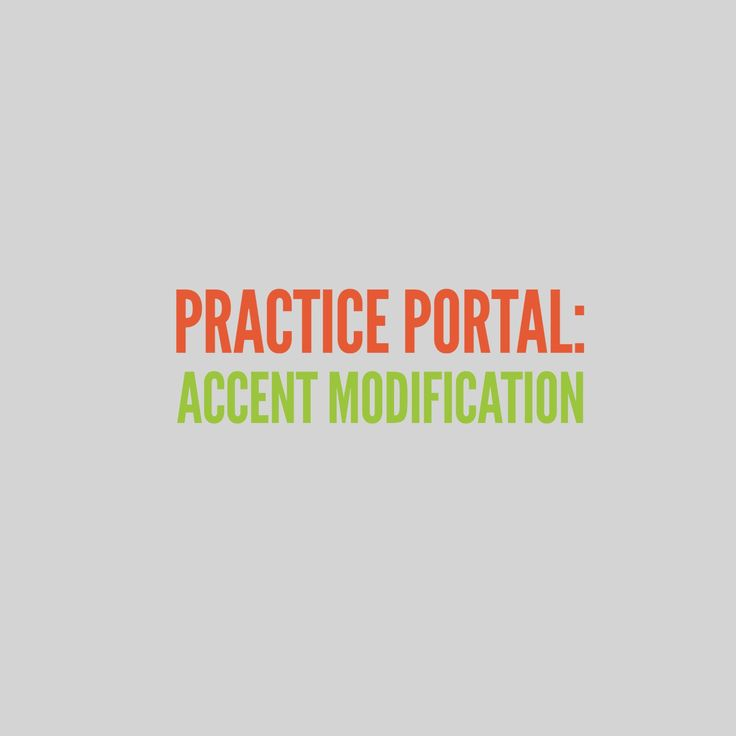 Accent Modification: Curated and peer reviewed content on professional issues. #culturaldiversity #speech #SLP