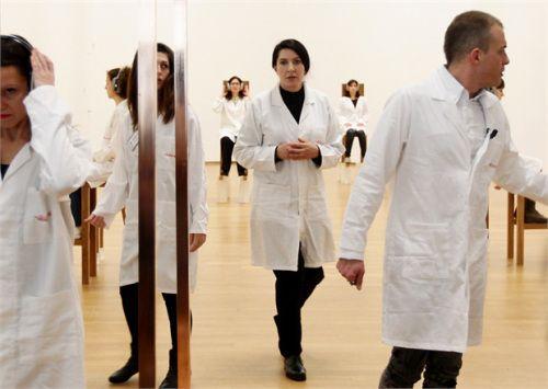 Marina Abramovic attends 'The Abramovic Method'