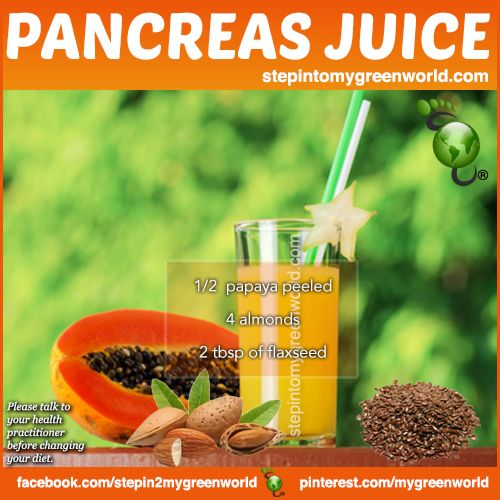 ☛ Start the day off with this simple recipe for pancreas health!  FOR ALL THE DETAILS: http://www.stepintomygreenworld.com/healthyliving/pancreas-health-juice/  ✒ Share | Like | Re-pin | Comment