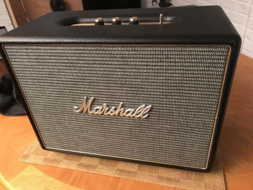 Marshall Woburn 200W Bluetooth Wireless Active Stereo Speaker - Black