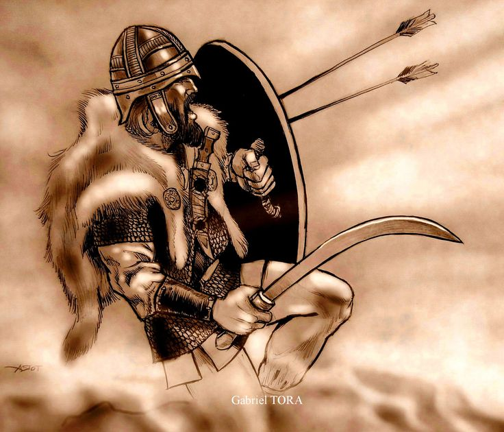 dacian warrior tarabostes hold the line tora art