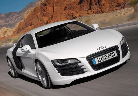 Audi R8    0-60 mph: 3.6 seconds. 525 horsepower. Cost: $114,200.