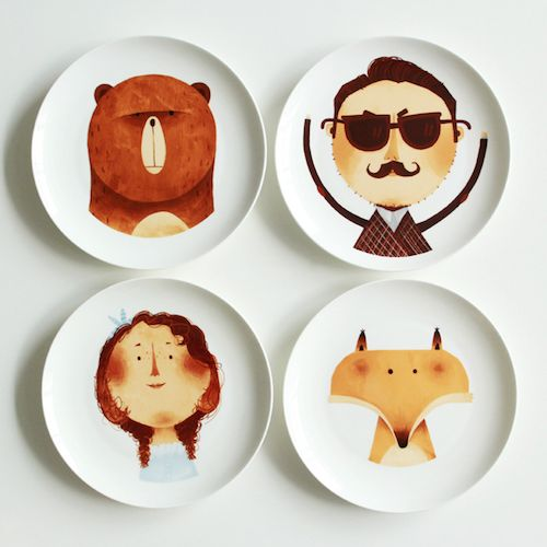 The Character Plates #Plates