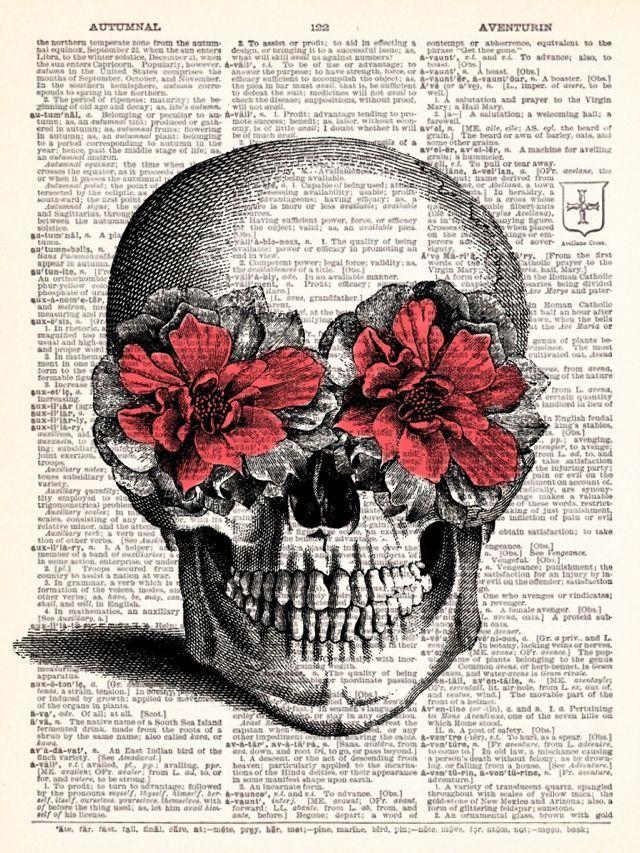 Vintage Skulls 18