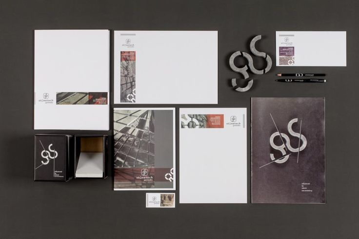 Visual Identity for Stonetech #logo #corporate identity #leaflet #packaging #web