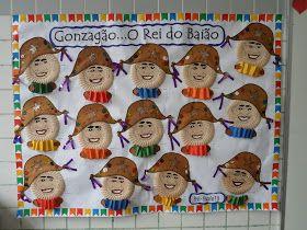 Atividade sobre Luiz Gonzaga para Educação Infantil: mural ou painel - colagem com pratos de papel - ESPAÇO EDUCAR