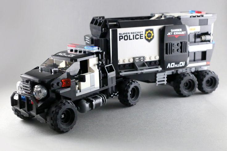 Police Truck-16 | LEGO 7 | Flickr