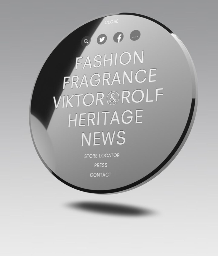 The World Round Web of Viktor & Rolf. Made at Fabrique [brands, design & interaction] Creative director: Ronnie Besseling.