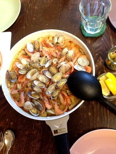甘エビと筍のパエリヤ by afromamaさん | レシピブログ - 料理ブログの ...