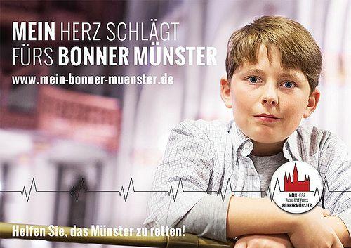 """FLOP! Schlägt das Herz dieses Jungen wirklich für das Bonner Münster? Soll das andere Jugendliche motivieren oder sollen Eltern und Großeltern das """"niedlich"""" finden? Casting & Shooting im Rahmen eines eigentlich guten Konzeptes missglückt"""