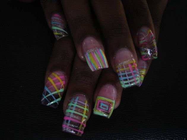 1000 Images About Glow In The Dark Nail Art On Pinterest Glow Acrylics And Glow In Dark