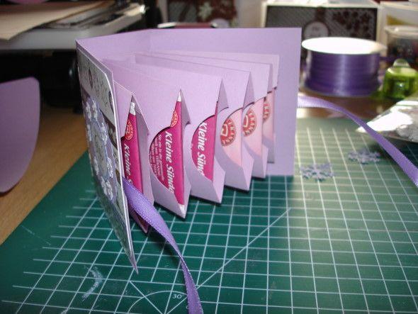Katevis Kreativecke: Teebeutelbuch mit Anleitung
