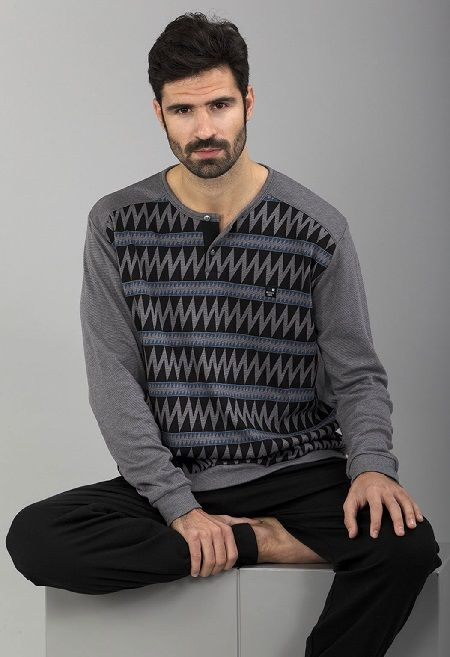 Pijama hombre Massana geometric