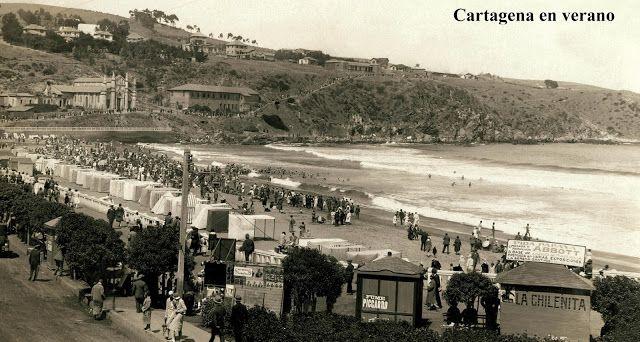 Imágenes de Chile del 1900: San Antonio, Cartagena y Llolleo