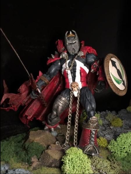 Medieval Spawn (Marvel Legends) Custom Action Figure