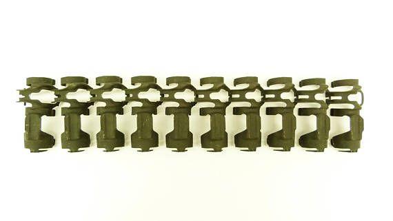 20mm Mk7 Mod 1 cartridge links for the M61 Vulcan Rotary