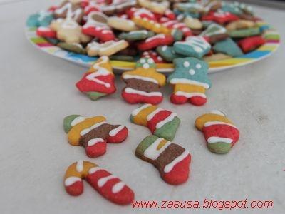 Biscotti decorati di Natale