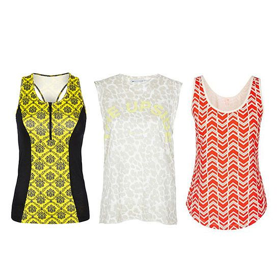10 Brightly Printed Tanks For Your Spring Workout