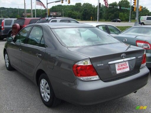 Toyota Camry 2005 goschtoyota.com
