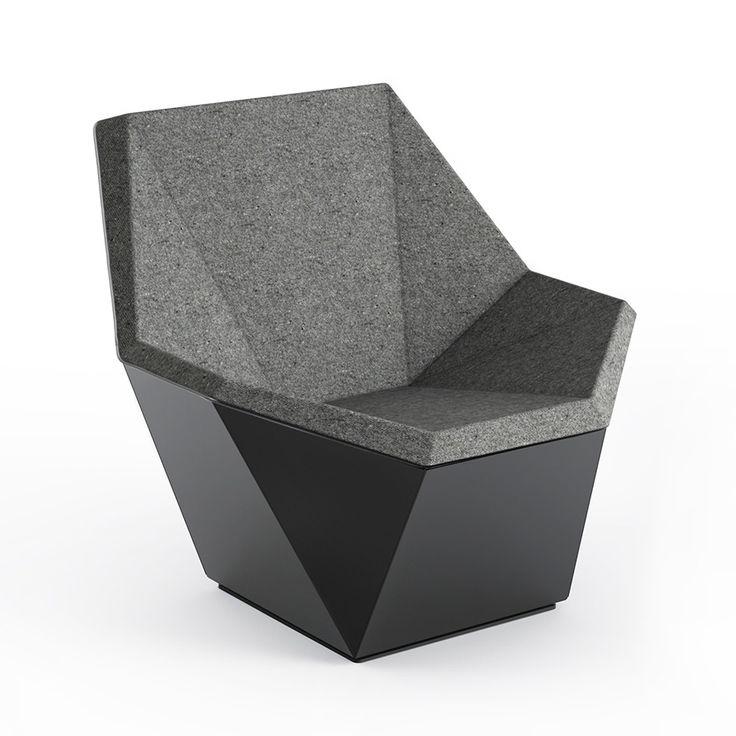 washington prism lounge chair by david adjaye knoll 10100