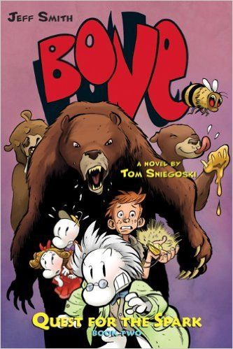 Bone: Quest for the Spark Book Two: Tom Sniegoski, Jeff Smith: 9780545141048…