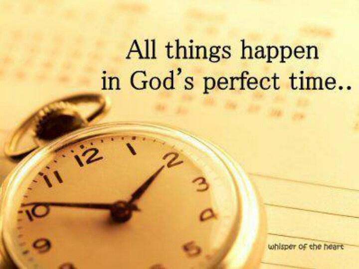 Inspirational Quotes About Gods Timing. QuotesGram