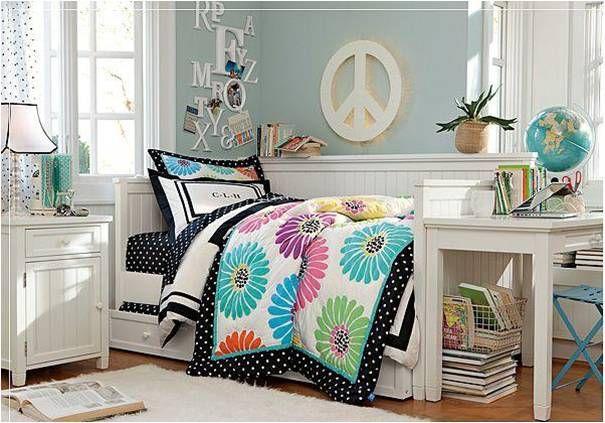Decandyou. Ideas de decoración y mobiliario para el hogar, estilos y tendencias.Blog de decoración.: Habitaciones juveniles para chicas II: Teenager rooms for girls II