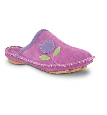 Womens Collection :: Foamtreads Everyday :: Aosta - Berry - Foamtreads - Canada's Premier Slipper brand for Men, Women, and Children