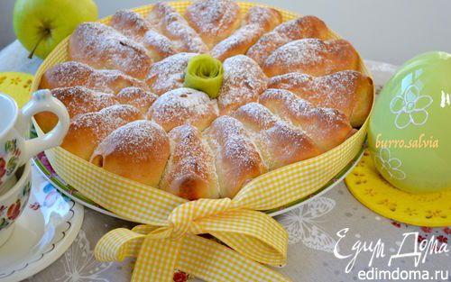 Отрывной яблочный пирог | Кулинарные рецепты от «Едим дома!»