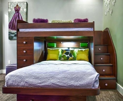 kids loft bunk bed ideas (Great for my youngest Boy)