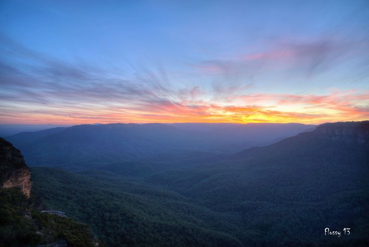 Lincoln Rock - Wentworth Falls photo