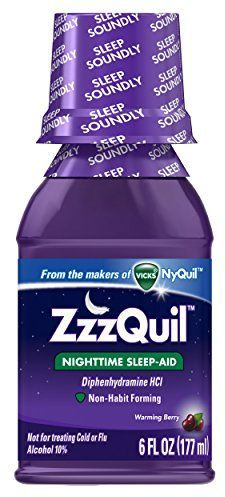 ZzzQuil Nighttime Sleep-Aid Liquid Warming Berry Flavor as low as $3.22 (reg. $5.88)